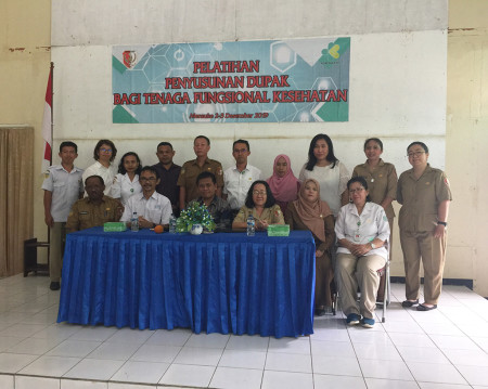 Pelatihan Pengembangan SDM Dinas Kesehatan (DINKES) Kabupaten Merauke Provinsi Papua Desember 2019