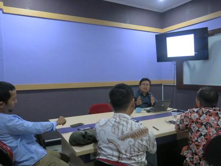 Pelatihan Pengembangan SDM Fakultas Hukum Universitas Diponegoro Desember 2019