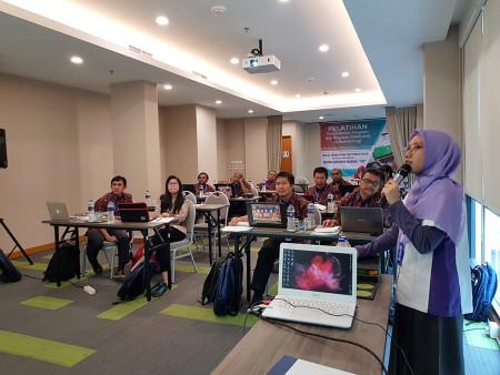 Pelatihan Penjadwalan Program dan Kegiatan Elektronik dengan Aplikasi e-Scheduling DINKES Provinsi Papua Desember 2019