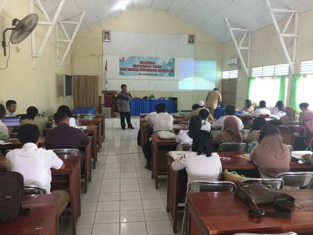 Pelatihan Penyusunan DUPAK Bagi Tenaga Fungsional Kesehatan DINKES Kabupaten Merauke Desember 2019