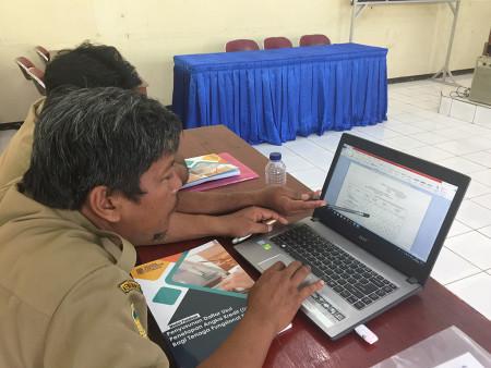 Pelatihan Penyusunan DUPAK DINKES Kabupaten Merauke Provinsi Papua Desember 2019