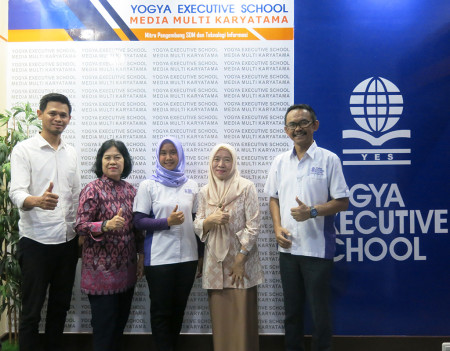 Pelatihan Perkantoran Elektronik dari Politeknik Negeri Sriwijaya Kota Palembang Provinsi Sumatra Selatan Desember 2019