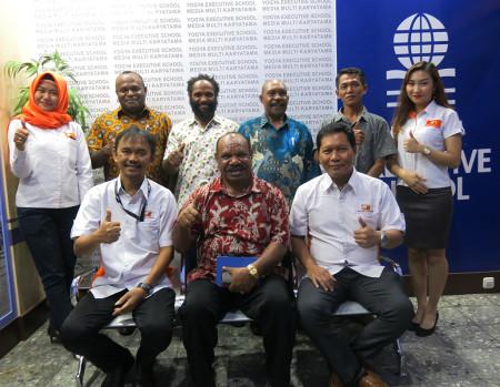 Pelatihan Teknologi Informasi (TI) Sekretariat Daerah (SETDA) Kabupaten Yalimo Provinsi Papua Desember 2019